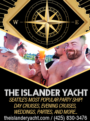 The Islander Yacht - Seattle's favorite party cruise!