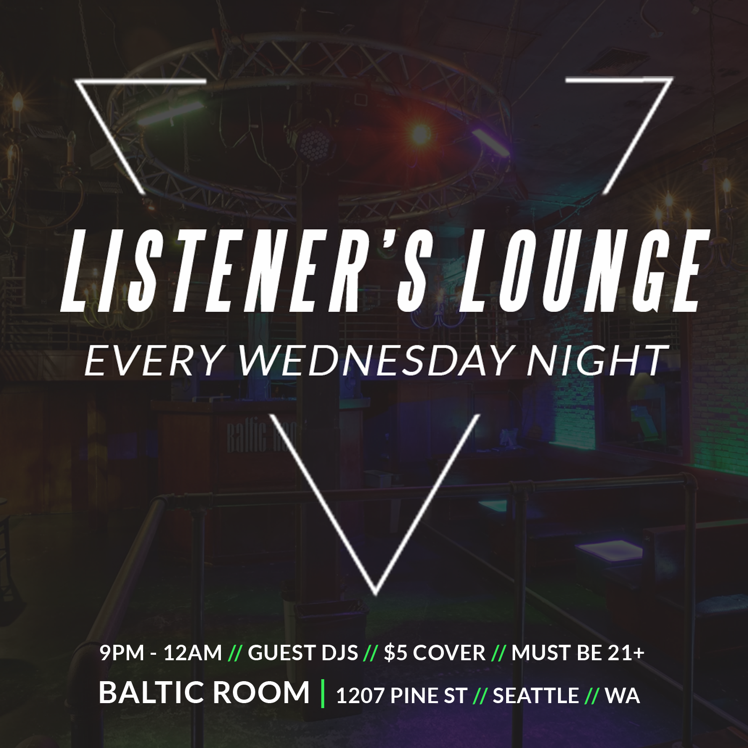 Every Wednesday at the Baltic Room